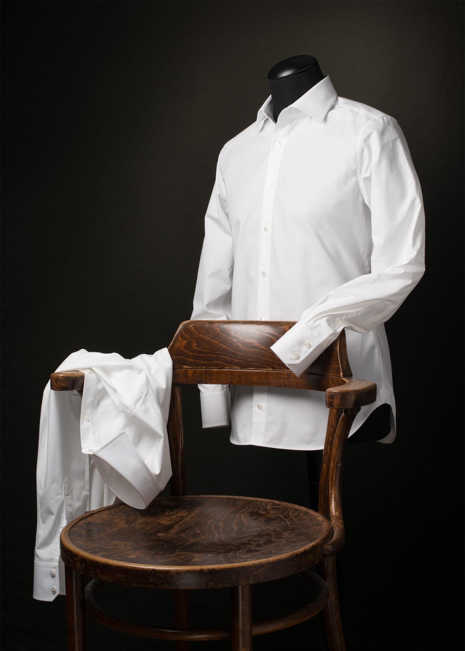 Slim Fit Wit Overhemd.Wit Overhemd Slim Fit Vakmanschap Van Cees N Co
