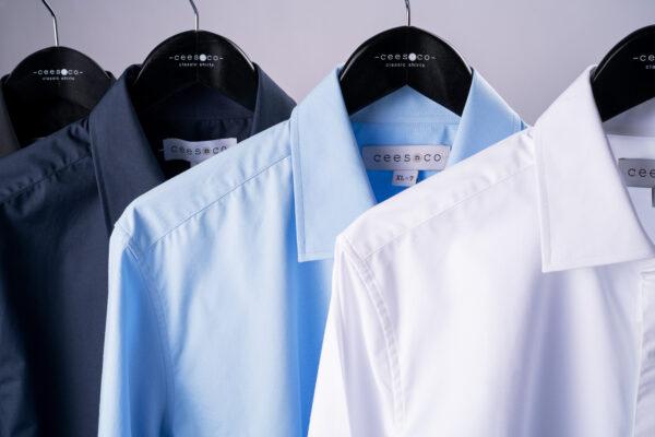Vier overhemden