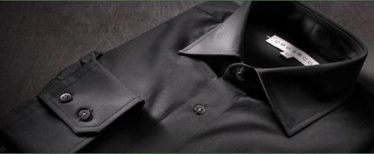 Zwarte blouse mouwlengte 7